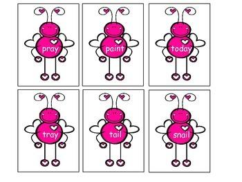 Love Bug Buddy Vowels