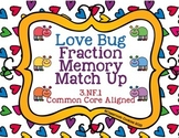 Fraction Memory Match Up Game--3.NF.1 (Common Core Aligned)