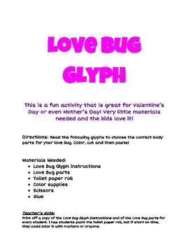 Love Bug Glyph