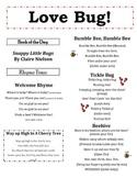 """Love Bug!"" Infant & Toddler Storytime Rhymes & Songs"