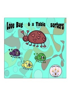 Love Bug Learning: Multiplying & Dividing by 6 & 6x table recall