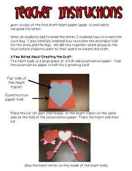 Love Bug Letter and Craft