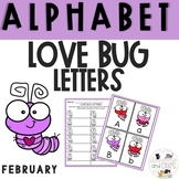 Love Bug Letters! Write the Room Alphabet game