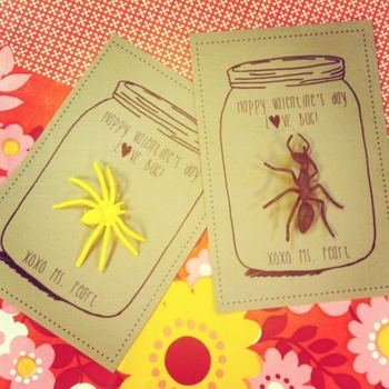 Love Bug Mason Jar Valentines