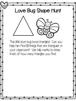 "❤ Valentine's Day ""Love Bug Math"" ❤"
