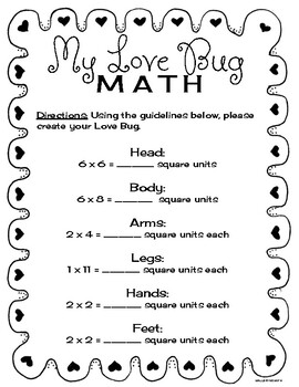 Love Bug Math (area)