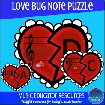 Love Bug Note Puzzle