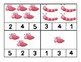 Love Bug Number Clip Cards for Preschool, Prek, and Kindergarten