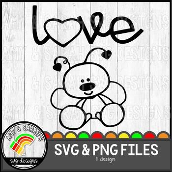 Love Bug SVG Image