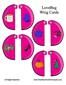 Love Bug Self - Checking Cards - Adorable and Easy to Make - BEGINNING LETTERS