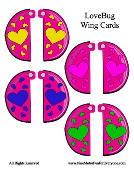 Love Bug Self - Checking Cards - Adorable and Easy to Make - COLORS
