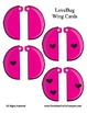 Love Bug Self - Checking Cards - Adorable and Easy to Make - NUMBERS 0 - 23