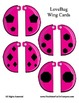 Love Bug Self - Checking Cards - Adorable and Easy to Make - SHAPES
