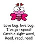 Love Bug Sight Word Game- Perfect for Valentine's Day!