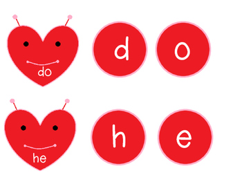 Love Bug Sight Words