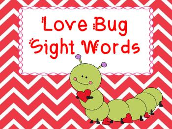 Love Bug Sight Words