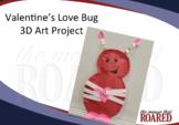 Love Bug Valentine Art Project