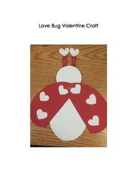 Love Bug Valentine Craft