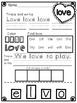 Love Bug Valentine Packet ~ NO PREP ~ FREEBIE!