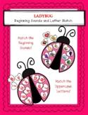 Ladybug Beginning Sound & Letter Match