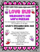 Love Bug Valentine's Day Word Puzzles