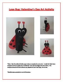 Love Bug: Valentine's Day Art Activity