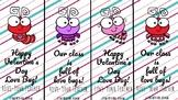Love Bug and Heart Teacher Valentines