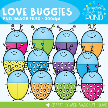 Love Buggies Clipart