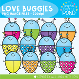 Love Buggies Clipart