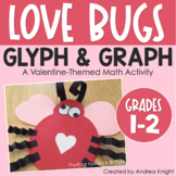 Valentine's Day Math Activity with Glyphs and Graphs (Love Bugs)