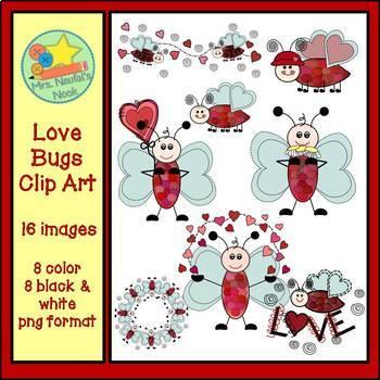Love Bugs Clip Art