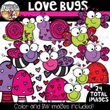 Love Bugs Clipart {Valentine's Clipart}