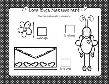 Love Bugs Measurement-Freebie!