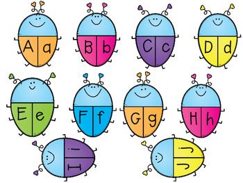 Love Bugs Sensory Bin Literacy Activities