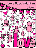 Love Bugs Valentine Clipart