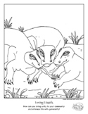 """Love """"Color Your Emotions"""" Coloring Page, Tools for Emotio"""