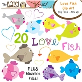 Love Fish Set: Clip Art Graphics for Teachers