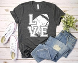 Love Football svg  Elf sweater Christmas shirt hat tackle valentine's day 1155S