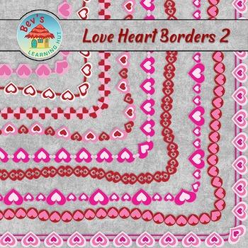 Love Heart Borders Bundle