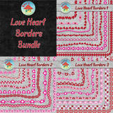 Love Heart Borders Bundle