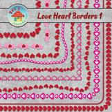 Love Heart Borders 1
