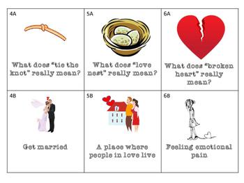 FREEBIE! Valentines Day: Love Idioms