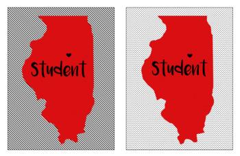 Love Illinois Student Tags