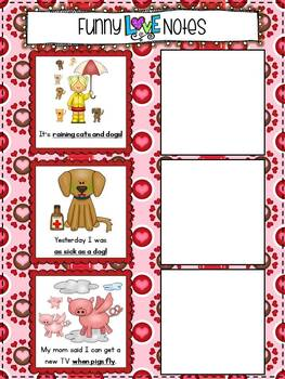 Love Is In The Air {10 Literacy Centers & 5 Interactive Notebook Activities}