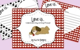 """""""Love Is..."""" Valentine's Writing Prompt"""