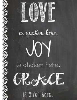 Love, Joy, Grace