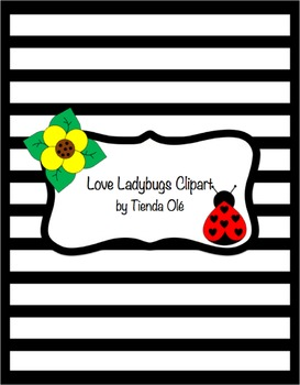 Love Ladybugs Clipart