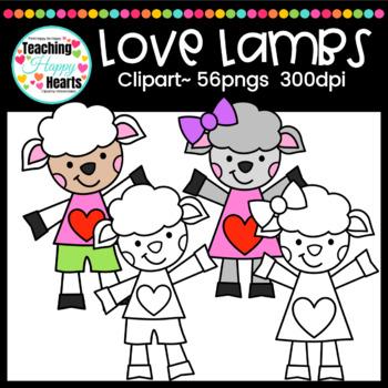 Love Lambs Clipart