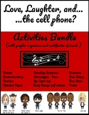 Love, Laughter, ....and the cell phone? - Activities Bundle