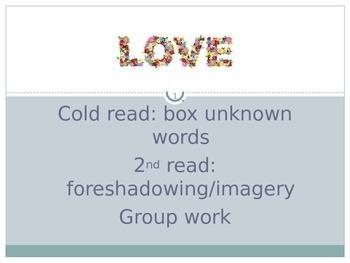 """""""Love"""" Lesson"""